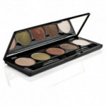 Eye shadow palette nr. 3 Gold Brown Sugar 152-153-155-158-161 Nvey Eco (7 g)