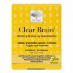 Clear Brain (180 tabletter)