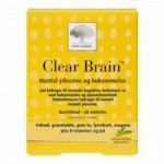 Clear Brain (60 tabletter)