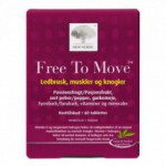 Free to move (60 tabletter)