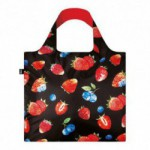 Shopper Loqi Juicy Strawberry Øko-Tex certificeret (1 stk)