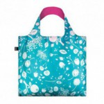 Shopper Loqi Seed Teal Øko-Tex certificeret (1 stk)
