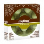 Natural massage scrub soap olive leaves Mythos (100 ml)
