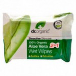 Wet Wipes Aloe Vera Dr. Organic (20 stk)