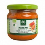 Cashew cream with paprika Ø Nutana (180 g)
