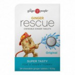 Ginger rescue original ingefærpastiller (24 tabletter)