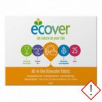 Ecover opvasketabs all in one (25 tabletter)