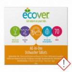 Ecover opvasketabs all in one (70 tabletter)