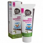 Berry toothpaste 0-3 år Pure Beginnings (75 ml)